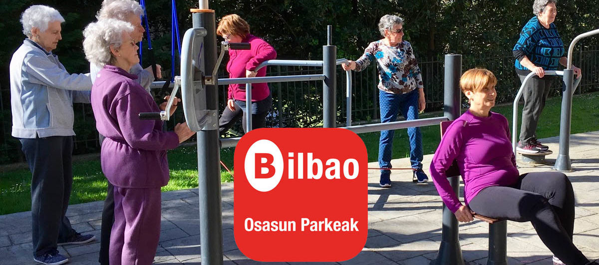 El ayuntamiento de Bilbao presenta la nueva app «Osasun Parkeak», dirigida a dinamizar los 53 parques biosaludables de Bilbao banner